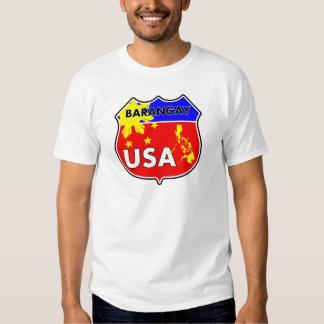 Barangay los E.E.U.U. Playeras