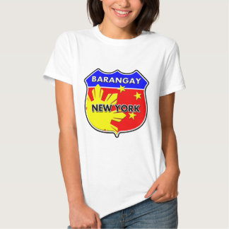 Barangay New York T Shirt