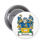 Baranov Family Crest Pinback Buttons