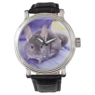 ¡Baratija! Reloj de la chinchilla