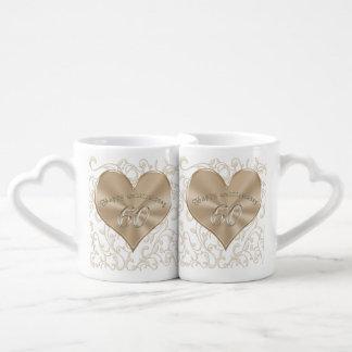 Barato, sexagésimos regalos únicos del aniversario tazas para parejas