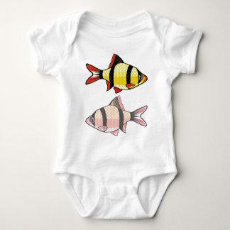 Barb Aquarium fish Baby Bodysuit