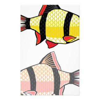 Barb Aquarium fish Stationery