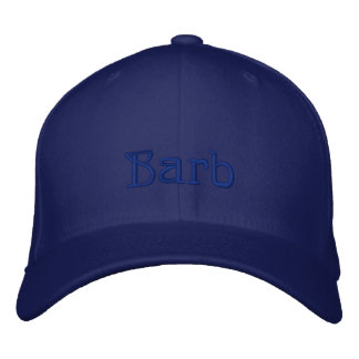 BARB Name Designer Cap