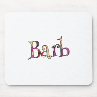 Barb's Colorful Fun Mouse Pad