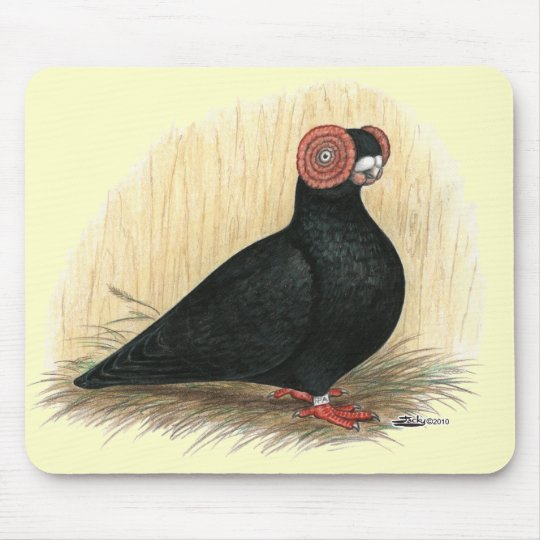 Barb:  Standard Black Mouse Pad