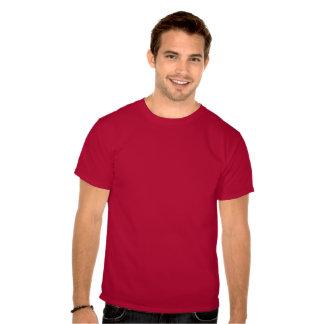 Barba blanca de Santa y camiseta del bigote/del bi