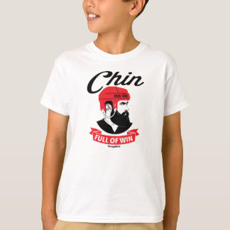 Barba Chin del hockey por completo de la juventud Playera