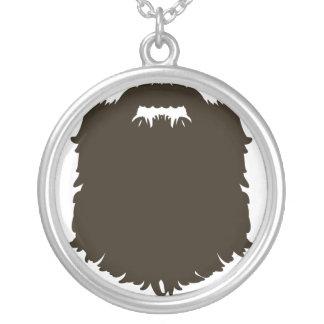 Barba de hombres rugosa colgante personalizado