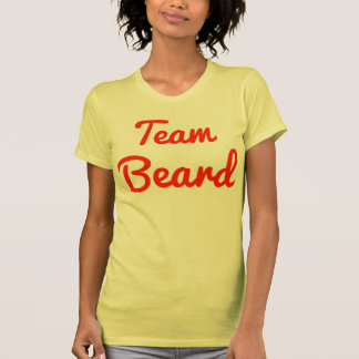 Barba del equipo camiseta
