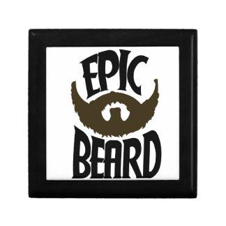 Barba épica caja de joyas