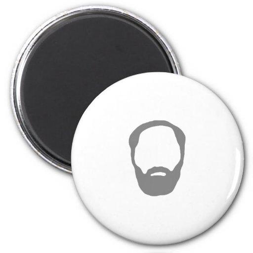 barba imanes para frigoríficos
