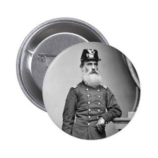 Barba impresionante de la guerra civil, 1860s pin