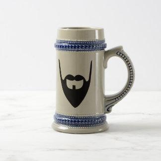 Barba llena divertida tazas