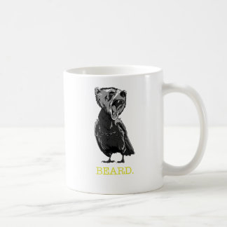 Barba (medio oso - medio pájaro) taza