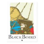 Barba negra tarjetas postales