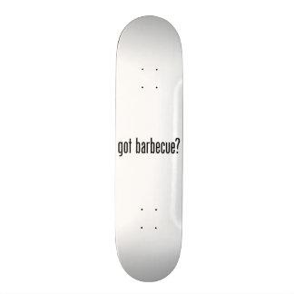 barbacoa conseguida patineta personalizada