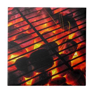 Barbacoa del carbón de leña