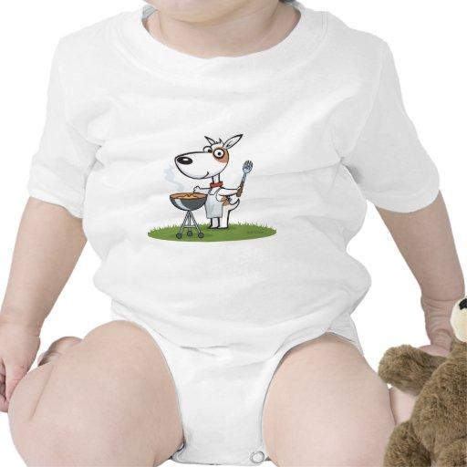 Barbacoa del perro camisetas