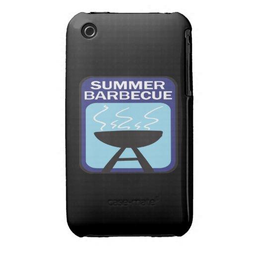 Barbacoa del verano Case-Mate iPhone 3 funda