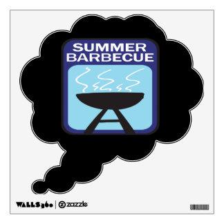 Barbacoa del verano vinilo