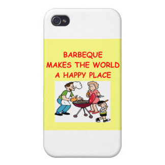 barbacoa iPhone 4 protectores