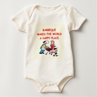 barbacoa mameluco de bebé