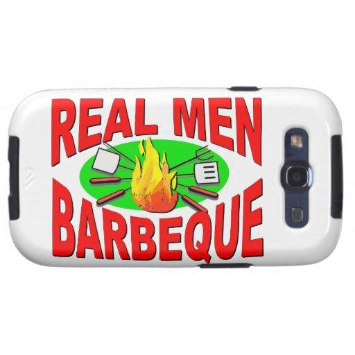 Barbacoa real de los hombres. Diseño divertido par Galaxy SIII Protector
