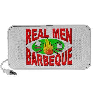 Barbacoa real de los hombres. Diseño divertido par iPhone Altavoz