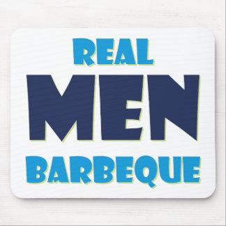 Barbacoa real de los hombres tapetes de ratones