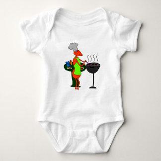 barbacue baby bodysuit