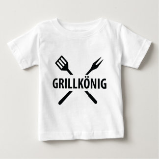 barbacue king icon baby T-Shirt