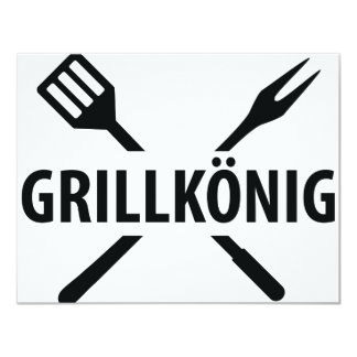 barbacue king icon personalized announcements