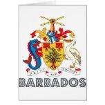 Barbadian Emblem Cards