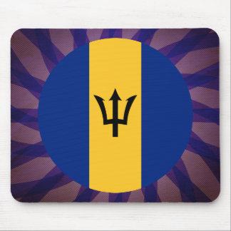 Barbadian Flag Souvenir Mouse Pad