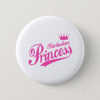 Barbadian Princess Button
