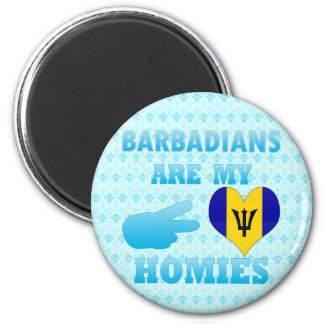 Barbadians are my Homies Magnets