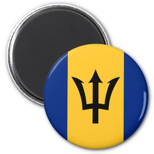 barbados 2 inch round magnet