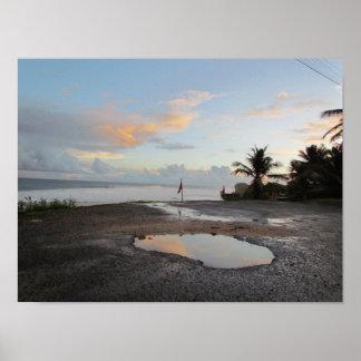 Barbados - A Still Morning Poster