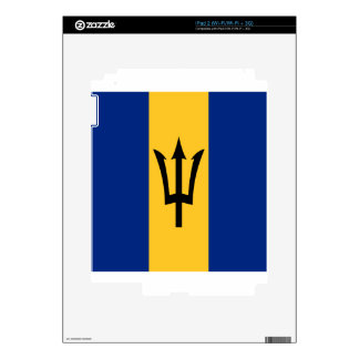 Barbados all over design iPad 2 decal