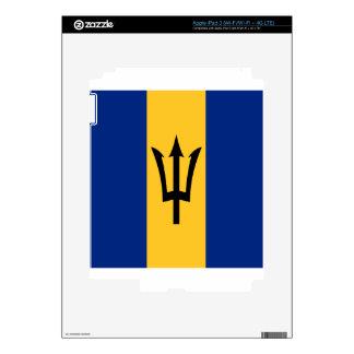 Barbados all over design iPad 3 skins