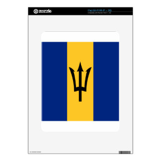 Barbados all over design skins for the iPad