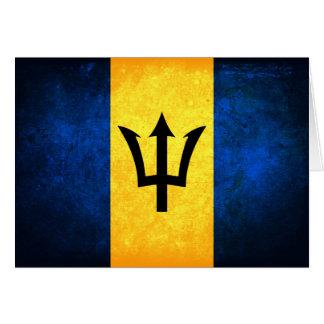 Barbados; Bajan Flag Card