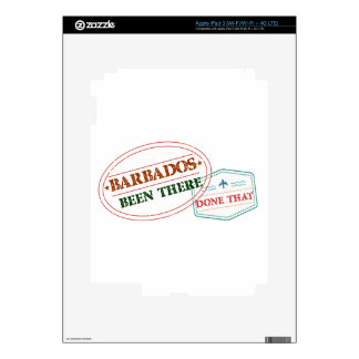 Barbados Been There Done That Skins For iPad 3