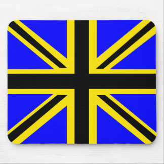 Barbados British Flag Mousepad