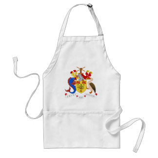 Barbados Coat of Arms Adult Apron