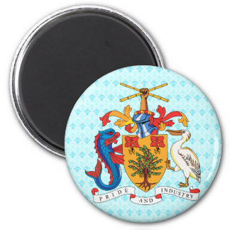 Barbados Coat of Arms detail Magnets
