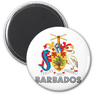 Barbados Coat of Arms Magnets