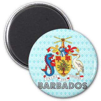 Barbados Coat of Arms Fridge Magnet