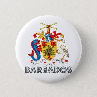 Barbados Coat of Arms Pinback Button